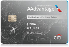 CitiBusiness® / AAdvantage® Platinum Select® card