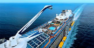 Earn miles when you book on Royal's Anthem of the Seas